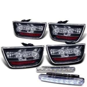 Eautolights 2010+ Chevy Camaro LED Tail Lights Lamps + LED