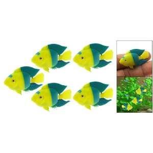 Como 5 PCs Plastic Floating Ornamental Fish for Aquarium