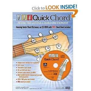 Quick Chord Interactive Guitar Chord Dictionary (Book & CD