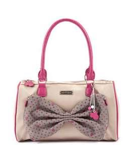 Pink (Pink) Disney Minnie Zip Bow Shoulder Bag  246183170  New Look
