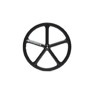 Aerospoke Matte Black Front Track Non Machined 700C