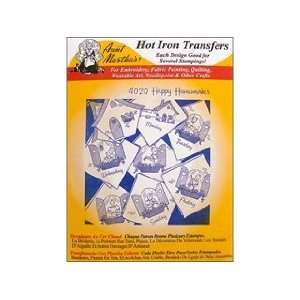 Hot Iron Transfer White Happy Homemaker Arts, Crafts & Sewing