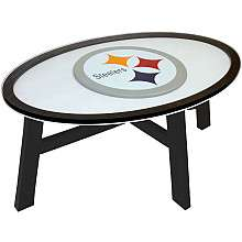 Fan Creations Pittsburgh Steelers Logo Coffee Table