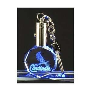 MVP Crystals St. Louis Cardinals Logo Octagon Keychain