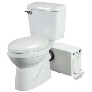 Bathroom Anywhere 38758 Macerating Toilet System, Includes
