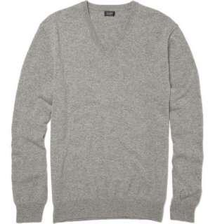 Clothing  Knitwear  V necks  Cashmere V Neck Sweater