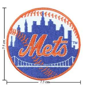 New York Mets Logo Iron On Patches: Everything Else