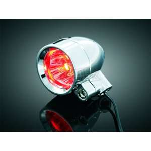Kuryakyn Super Bright LED Silver Bullets with 3/8 16 Hollow Mounting