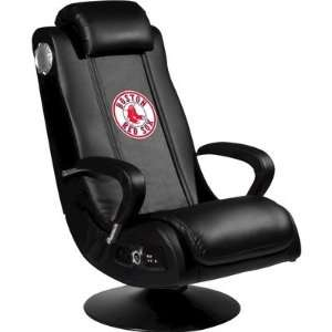 Game Rocker with MLB Logo Panel Team Boston Red Sox Electronics
