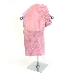 Pink Suede Dog Pants LARGE