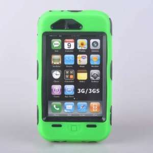 Heavy Duty Tough Cover Case *GREEN* For iphone 3G 3GS 16GB