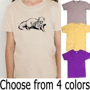Arctic Fox American Apparel Organic Kids T Shirt