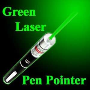 Top Quality   2 in 1 Green Laser Pointer Laser Projector Pen Style