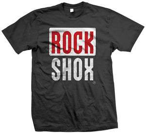 Rockshox Rock shox Mountain Bike Black T Shirt all size