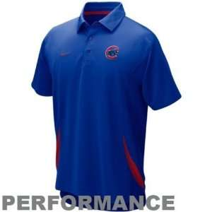 Chicago Cubs Royal Blue Dri FIT Performance Polo