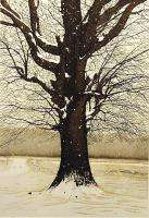 Bob Timberlake Snow World SIGNED FINE ART matted Etching winter MAKE