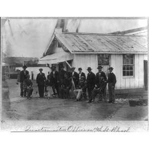 Quartermasters Office,Washington,DC,employees posed in