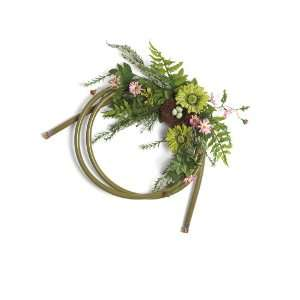Foreside 71187 Garden Hose, Wreath Green Patio, Lawn