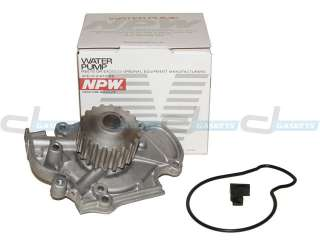 Accord Isuzu Oasis 2.2L & 2.3L F22B1 F23A Timing Belt Water Pump Kit
