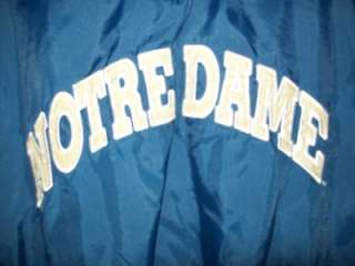 Young Mens XL Starter Notre Dame Fighting Irish Pullover Jacket   NICE