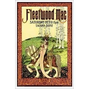 Fleetwood Mac   Posters   Limited Concert Promo