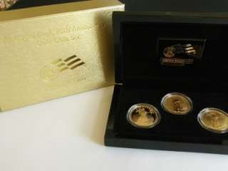 2006 W AMERICAN EAGLE 20TH ANNIVERSARY GOLD 3 COIN SET