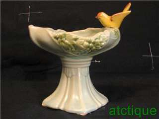 McCoy Pottery Birdbath Vase, planter, Bird Bath
