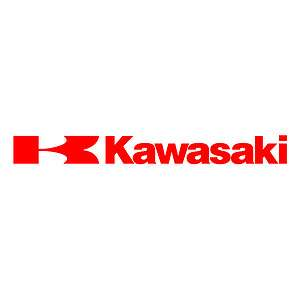 Kawasaki Logo decal sticker moto CHOOSE SIZE/COLOR/STYLE
