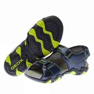 Geox Strike Dark Blue Sandals Kids New