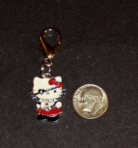 New Hello Kitty Pirate Charm Zipper Pull Backpack Clip