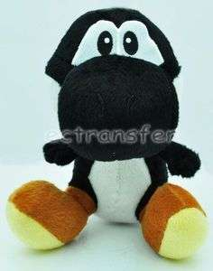 Super Mario YOSHI (Black) 7 Plush Doll Soft Toy/MT106