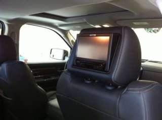 Dodge Ram 1500 Dual DVD Headrest Video Players Monitors