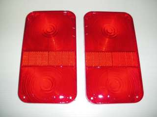 SIGNAL STAT RED STOP/TAIL LIGHT LENS #9364 (2)