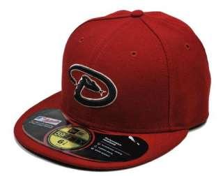 NEW ERA 59Fifty Fitted MLB Baseball Hat Cap Arizona Diamondbacks Game