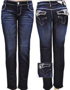 NWT Cute Womens Pocket Skinny Jeans Denim sz 3, 5, 7, 9