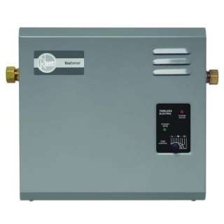 kW 240 Volt Tankless Electric Water Heater RETE 27 at The Home Depot