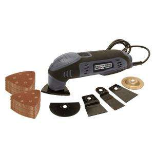 Tool Promo Kit with 4 Accessory Tools with 50 Piece Sanding Disc Set
