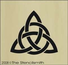 stencil triquetra celtic pictures to pin on pinterest tattooskid. Black Bedroom Furniture Sets. Home Design Ideas