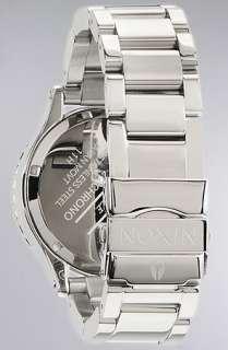 Nixon The 4220 Chrono Watch in Crystal  Karmaloop   Global
