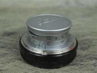 Leica Summaron 28mm f/5.6 28/5.6 Red Scale /w RARE HOOD |