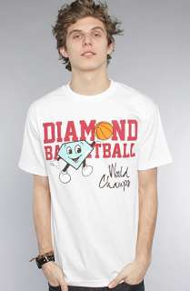 Diamond Supply Co. The Cutty Champ Tee in White : Karmaloop