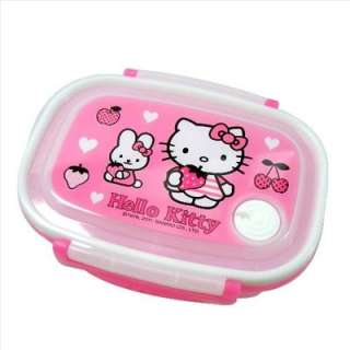 Hello Kitty Food Container Lunch Case Strawberry Sanrio
