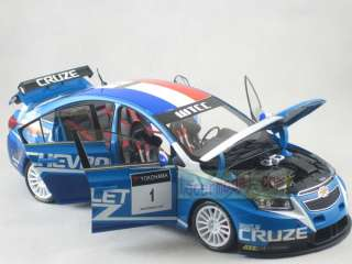 18 China Chevrolet Cruze WTCC 2011 New Race #1 Die Cast