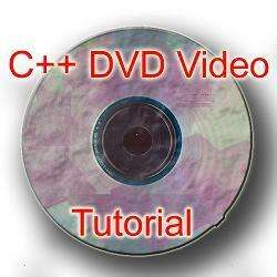 C++ programming DVD VIDEO TUTORIAL ( CPP ANSI ISO ) 094922721846