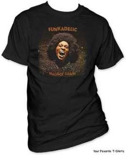 Licensed Funkadelic Maggot Brain Adult Shirt S 3XL