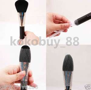 H5465 1M Make Up Cosmetic Brush Guards Mesh Protectors Cover Fits Most