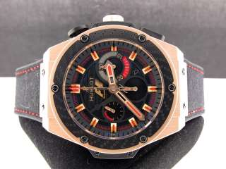 HUBLOT BIG BANG F1 KING POWER 48MM 18K ROSE GOLD LIMITED 703.ZM.1123