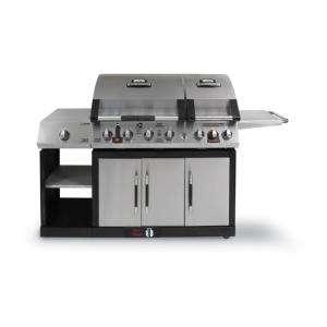 Sear 6 Burner Dual Fuel Gas Grill 810 3885 SC