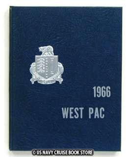 USS DALE DLG 19 WESTPAC VIETNAM CRUISE BOOK 1966
