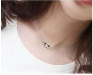 Baroco Style Cute Panda Necklace